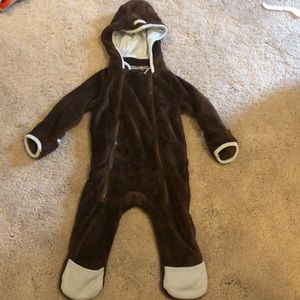 Rugged Bear Bunting Suit